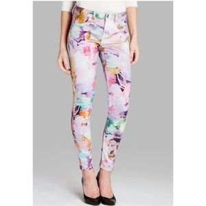 Ted Baker London Jeans - Ted Baker Bloem Electric Daydream Print Pants